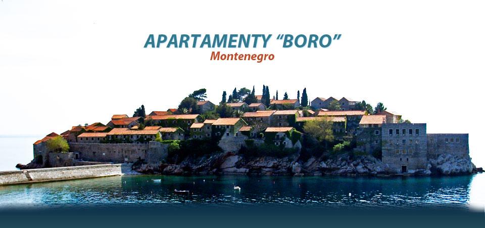 Apartamenty Boro Czarnogora
